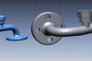 3d scan of valve link