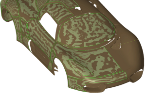 car body 3d scanning